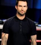 Adam Levine With Tiger Tattoo