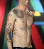 Adam Levine Animal Tattoos