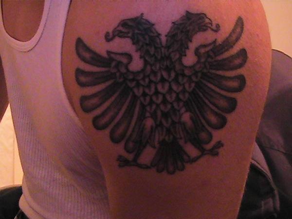 Albanian Tironsi Eagle Tattoos