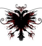 Albanian Eagle Artwork Sample for Tattoo