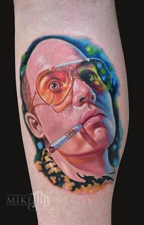 Mike Devries Tattoo Design