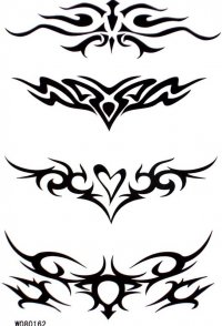 Temporary or Permanent Tribal Tattoo Designs Ideas