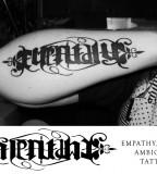 Unique Ambrigam Tattoo Design