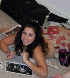 Danielle Colby On The Floor Tattoos [NSFW]