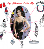 Long Lasting Temporary Tattoos Amy Winehouse  (NSFW)