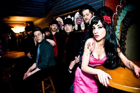 Amy Winehouse Temporary Tattoo Design Idea