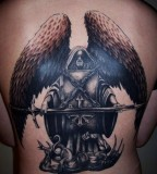 Holy Angel Tattoos For Men