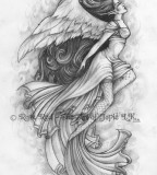 Japanese Angel Tattoos Design