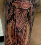 Arm Angel Tattoos Ideas For Men