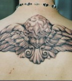 Guardian Angel Tattoo Design For Men
