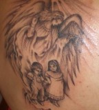 Guardian Angel Tattoos Design