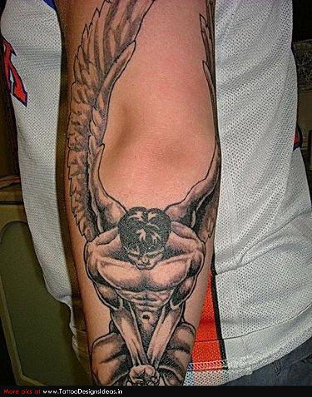 Tatto Design Of Angel Tattoo Designs for Men