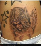 Fallen Angel Tattoo Designs Ideas