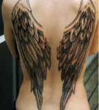 Stunning Angel Wings Tattoos for Girls
