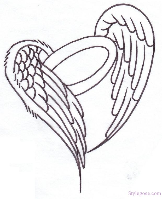 374262ac5dafc Heart Angel Wings Tattoos - | TattooMagz › Tattoo Designs / Ink ...