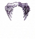 Angel Wings Tattoo Concept