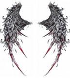 Broken Angel Wings Tattoo Designs