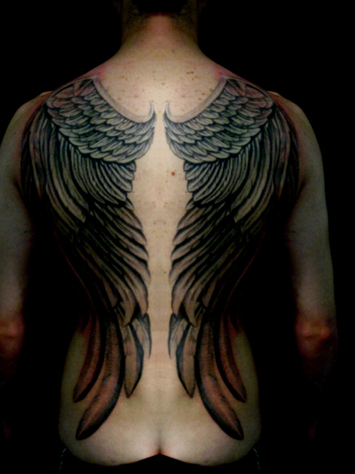 Awesome Devil Wing Tattoos