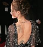 Angel Heart Of A Demon Back Angelina Jolie Tattoo