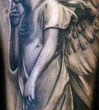 Pretty Angel Tattoos Ideas For Girls