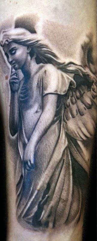 Pretty Angel Tattoos Ideas For Girls