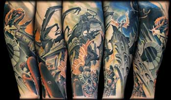 Looking For Unique Tattoos Angels And Demons Gallery