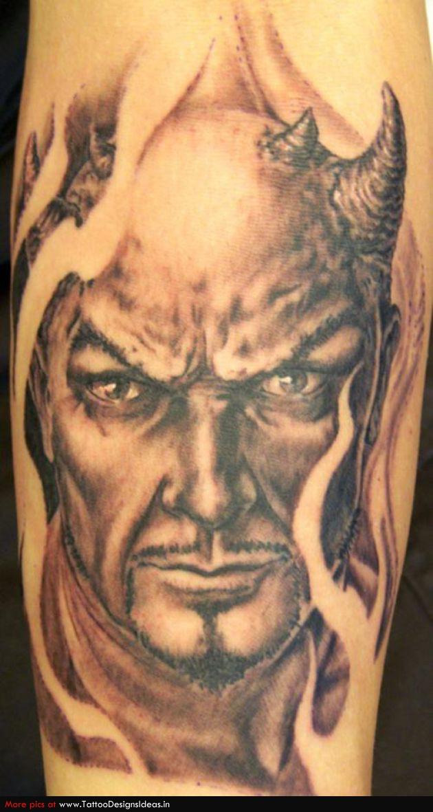 Tatto Design Of Devil Tattoos for Man