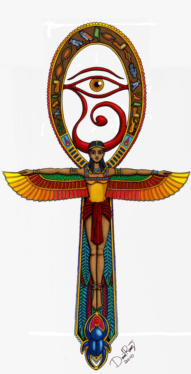 Ankh Tattoo – Egyptian Tattoo Design