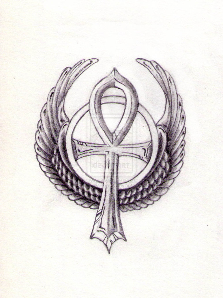 2426fa6ae08c9 Wing Ankh Tattoo Ideas - | TattooMagz › Tattoo Designs / Ink Works ...
