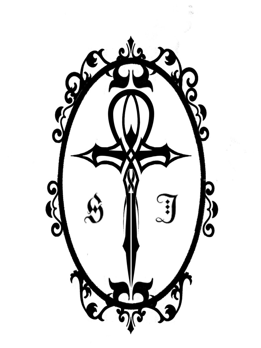9a05aff25ba59 Framed Black - White Ankh Tattoo Ideas - | TattooMagz › Tattoo ...