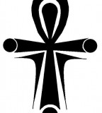 Ankh Tattoo Design - Simple Black White Tattoos