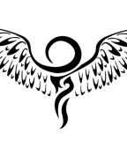 Flying Wings Ankh Tattoo Image