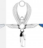 Simple / Color Egyptian Ankh Tattoo Design