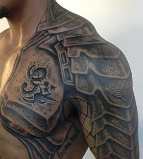 armour tattoos for men