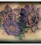 Wonderful Aster Flower Tattoo Designs Slodive