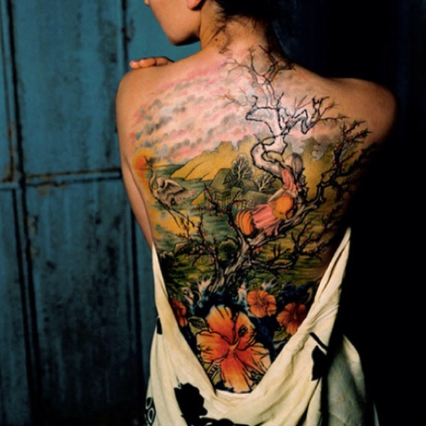 Awesome Flower Tattoos Design