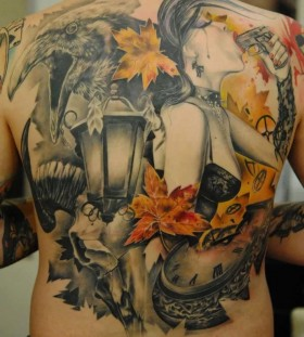 autumn-inspired-colors-tattoo