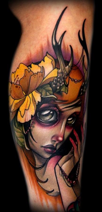 autumn-lady