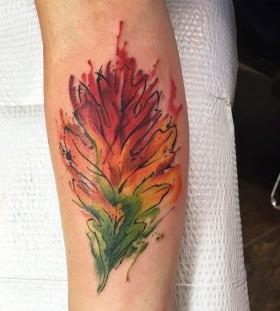 autumn-leaf-tattoo