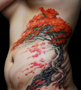 autumn-tree-tattoo