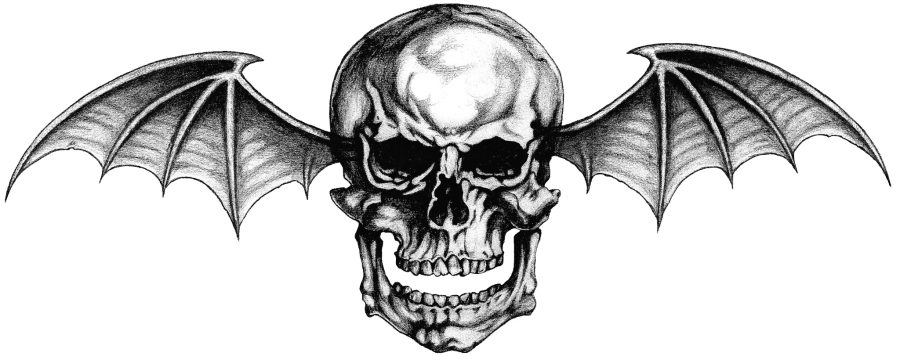 "Avenged Sevenfold Logo ""Deathbat"" Tattoo By Lightsinaugust"