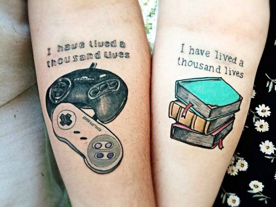 awesome couple tattoo
