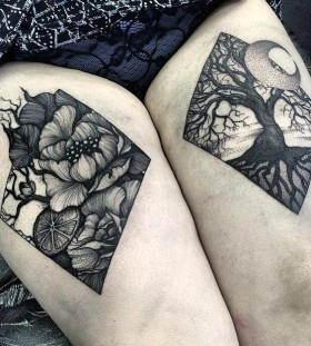 awesome leg tattoos for women