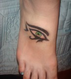 Eye Tattoo On Foot Almost Lover Tattoos
