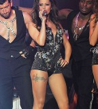 Cheryl Cole Leg Tattoo Design (NSFW)