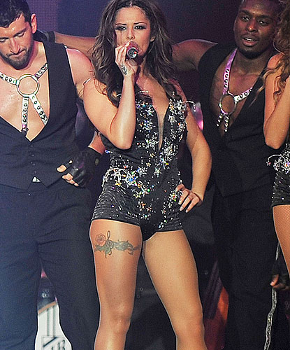 Cheryl Cole Leg Tattoo Design (NSFW)