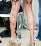 Tattoos Case Sparrow Tattoo On Women Thigh