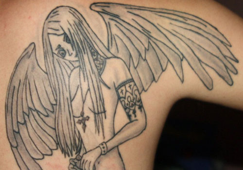 Pleasant Angel Tattoos For Men