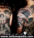 Amazing 3D Back Tattoos For Men