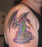 Gorgeous Reptile Tattoo Designs On Arm